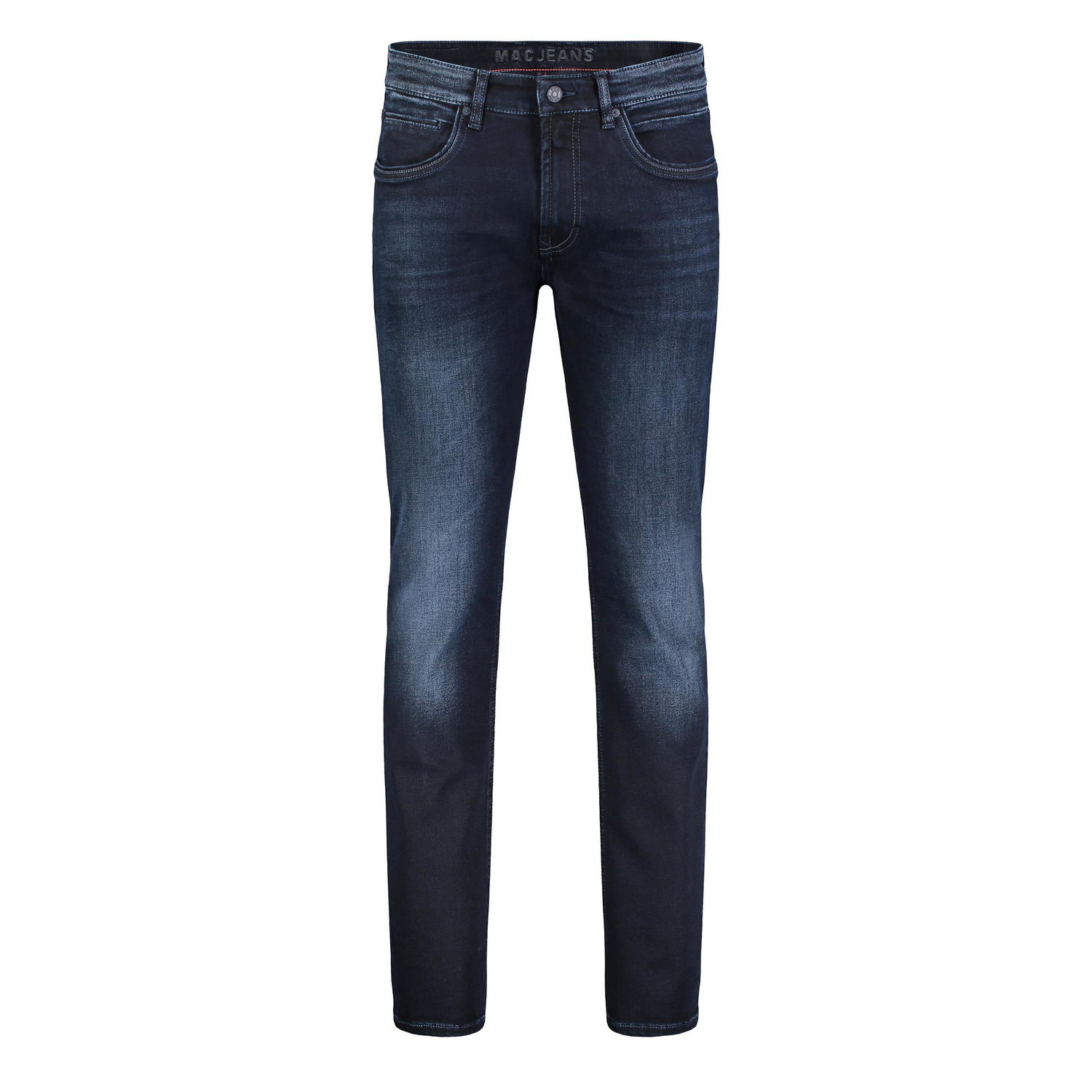 MAC Arne Pipe - Denim Flexx 1973L H793 Jeans stretch blue black
