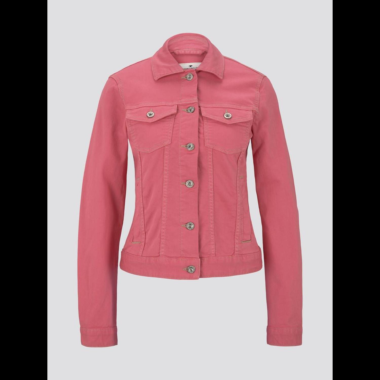 TOM TAILOR Jeansjacke weiß oder pink