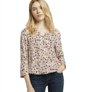 TOM TAILOR Bluse beige flower