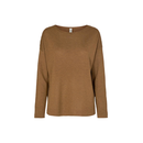 SOYACONCEPT Pullover oversize cognac